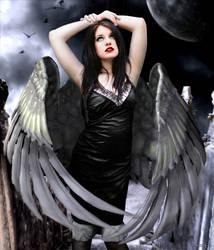 Fallen angel by fOXbain