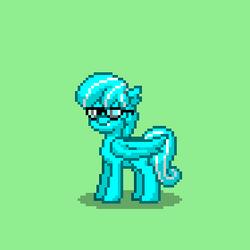 Sky Blue Pony Town by budderguy42