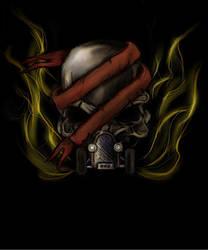 HotRod Skull by Threepwoody