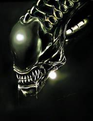 Alien by Threepwoody
