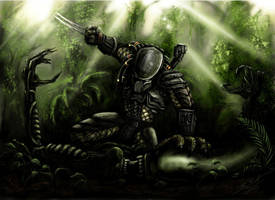 Alien vs. Predator by Threepwoody