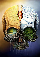 Nature Skull contest by Threepwoody