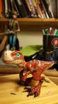 Warcraft Raptor baby by Threepwoody