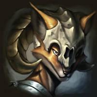 FOX_WARRIOR_for_livestream by totmoartsstudio2