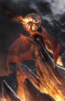 FIRE BORN by totmoartsstudio2