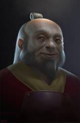 General Iroh by totmoartsstudio2