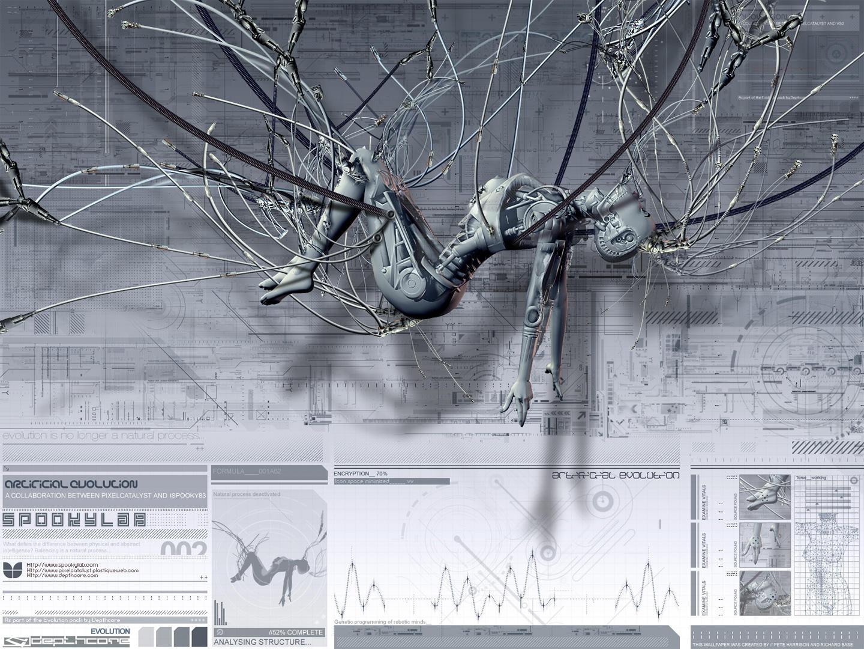 Wallpaper spookyLab3 by ispooky83