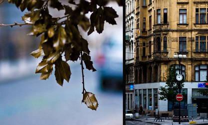 Prague Stop Time by Asetskaya