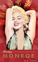 Marilyn Monroe as Lorelei Lee by kfairbanks