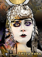 Theda Bara - Colorized by kfairbanks