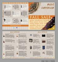 Music Store Ad, Set 1 by kfairbanks