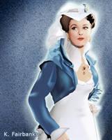 Vivien Leigh as Scarlett O'Hara by kfairbanks