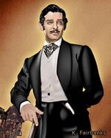 Clark Gable as Rhett Butler by kfairbanks