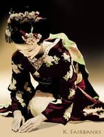 Geisha Kneeling by kfairbanks