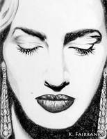 Kate Winslet (pencil drawing) by kfairbanks