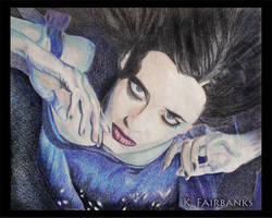 Eva Green (pencil drawing) by kfairbanks