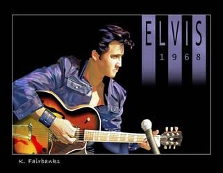 Elvis Presley 1968 by kfairbanks
