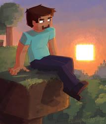 Steve by TwinklePowderySnow