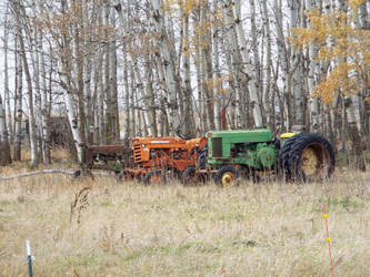 A collection of tractors by lasair44