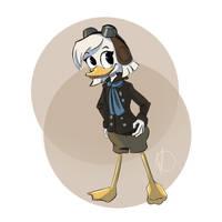 Della Duck by Hyzenthlay89