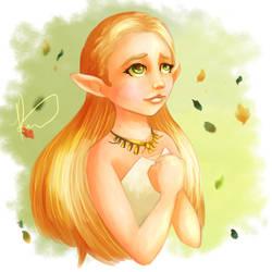 Breath of the Wild Zelda by Hyzenthlay89