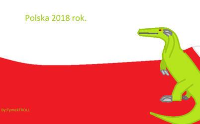Polska-Poland Spinozaur-Spinosaurus. by TymkTROLL