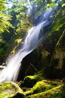 Washington Falls by Lucycolt
