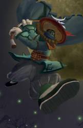 Temple Jax Leauge Of Legends Fan Art By Doddlefaff On Deviantart