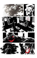 Batman page by DerecDonovan