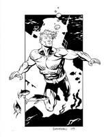 Aquaman Commission by DerecDonovan