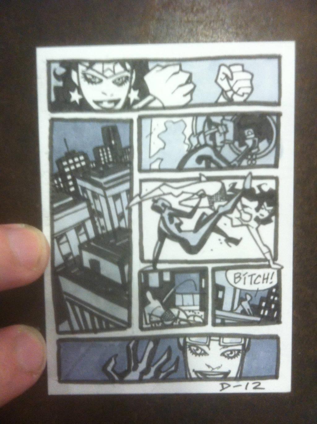 ImageSuper-Mini Comic Page by DerecDonovan