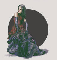 Scarlet Woman by MforMultiverse