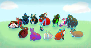Easter WajaBuns by RandyZorra