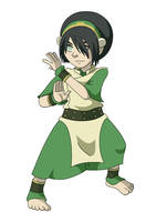 Toph by captainsponge