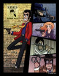 Wanted: Dead or Alive by captainsponge