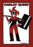 Harley Quinn Redesign by captainsponge