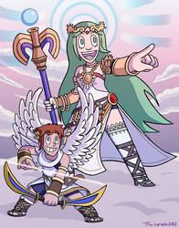 Kid Icarus by captainsponge