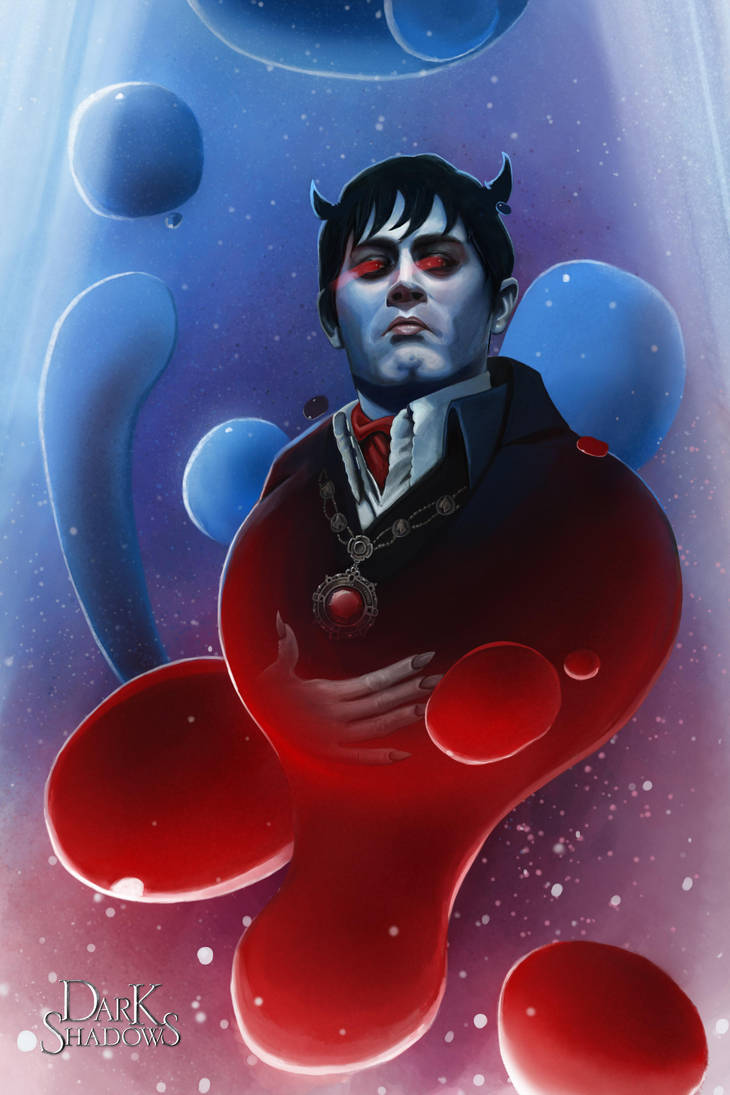Dark Shadows - Barnabus Portrait by count-joshula