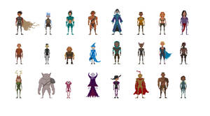 Pixel-dudes by count-joshula
