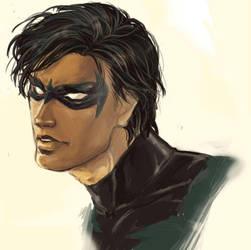 Nightwing by NISSHIE