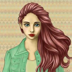 Iris by Chelidonia