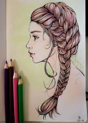 Braid_pencils by Chelidonia