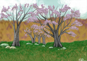 trees by Chelidonia
