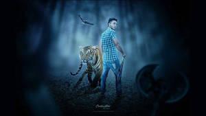 Boy and The Tiger by hasshasib001