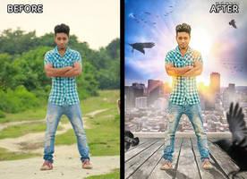 Creative movie Poster Design by hasshasib001