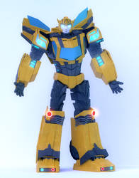 Transformers:cyberverse - Bee full body [blender] by TRAWERT