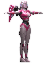 Another render of WIP Arcee model [Blender TF] by TRAWERT