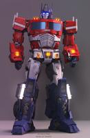 G1 Optimus Prime 3D model  [Blender] [TF] by TRAWERT