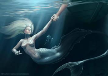 mermaid by MorranArt