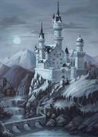 Castle by MorranArt
